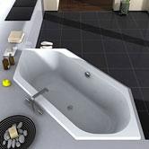 vasche da bagno esagonali
